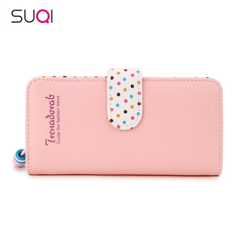 Lovely Teenage Girl Women Wallet Leather Coin Purse Women Wallet Phone Case Pocket Card Holders Money Handbag For 2019