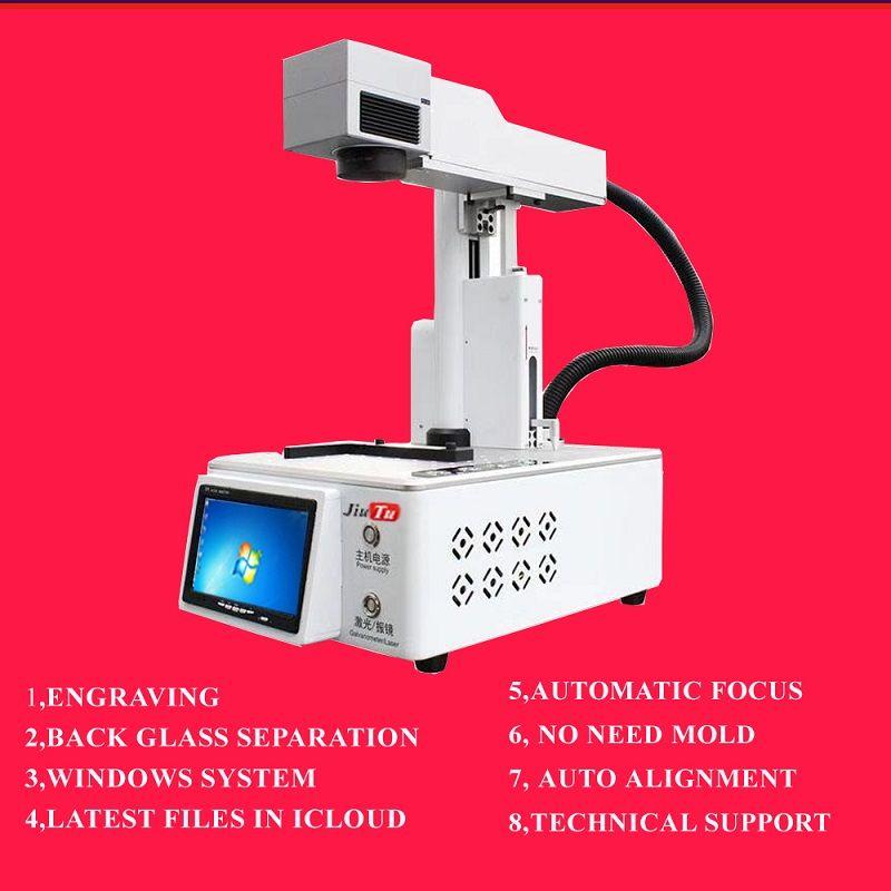 Écran à cristaux liquides couverture en verre laser séparateur machine pour iPhone X XS 11Pro Max Gravure de réparation LOGO Machine de marquage