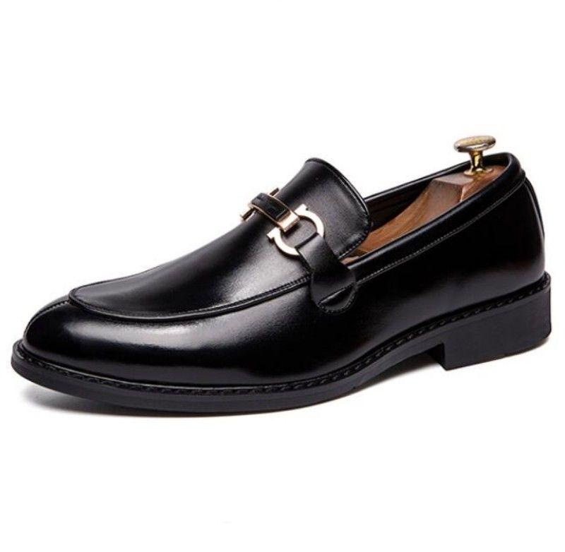 캐주얼 신발, 통기성 로퍼, 고급 플랫폼, 고급스러운 디자이너 남성 신발 W40 남자 지적 신발 W40