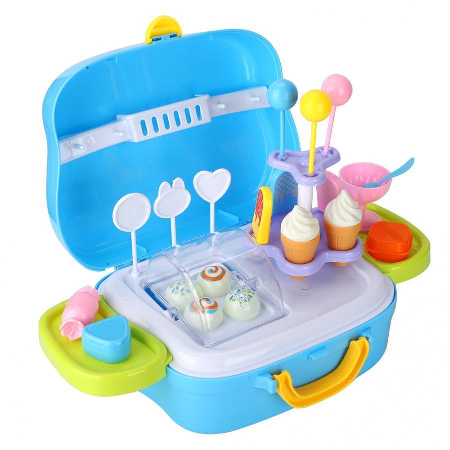 Mini Dondurma Şeker Box House Çal Eğitici Oyuncak Süper Komik Mini Dondurma Arabası Oyuncak Mutfak Oyuncaklar İçin Çocuk