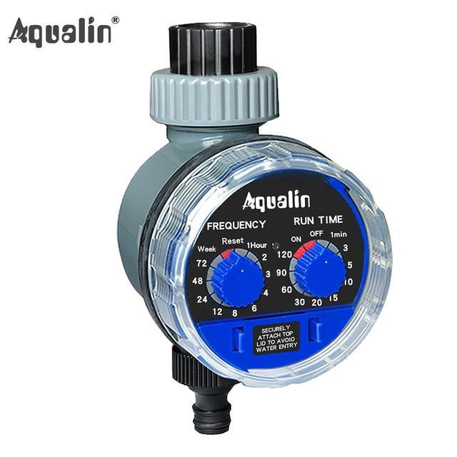 Válvula de água s Garden rega Temporizador Bola eletrônico automático Temporizador água Início Jardim Irrigação Temporizador System Controller # 21025