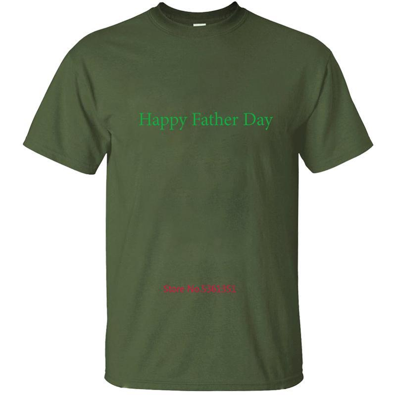 Neue Ankunft Happey Vatertag T-Shirt T-Shirt für Männer-T-Shirt der Männer Streetrundhalsausschnitt-Fitness Mann Größe S-5xl Hip Hop Coton