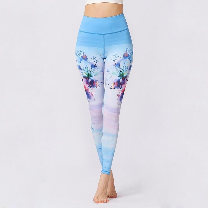 Women/'s Capri Cropped Leggings Yoga Pants for Gym Fitness Workout Wear S M L XL