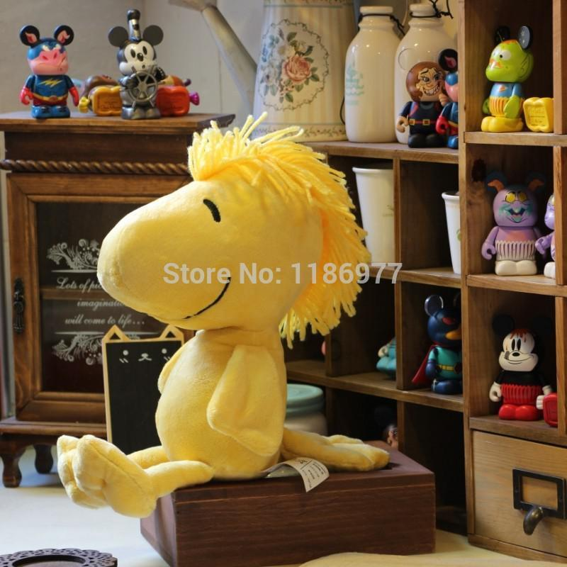 Wholesale-NEW Arrival !!! Kohls Cares Peanuts Woodstock Plush Stuffed Animals Toy Horse Doll Gift for Baby Girl Birthday Christmas Gift