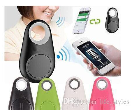 Mini Smart Wireless Bluetooth Tracker Car Child Wallet Pets Key Finder GPS Locator Anti-Lost Alarm Reminder for phones free shipping