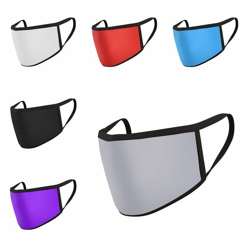 Rosto Anti Poeira cobrir a boca filhos adultos PM2.5 Máscara Respirador Dustproof Anti-bacteriana lavável reutilizável Ice Silk Máscara Designer RRA3048-3