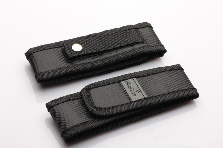 wholesale Black Nylon Belt Holster Cover Pouch for UltraFire C8 G700 E6 E17 A100 501B 502B LED Flashlight Torch