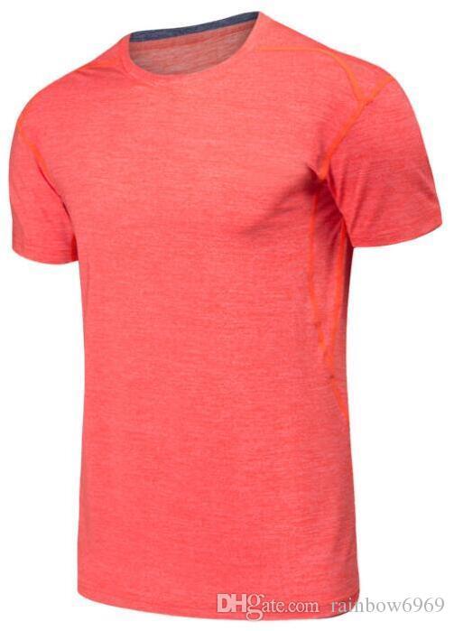 A9 мужская облегающая фитнес-бело-серая одежда бегущая спортивная одежда с короткими рукавами стрейч быстросохнущая одежда футболка