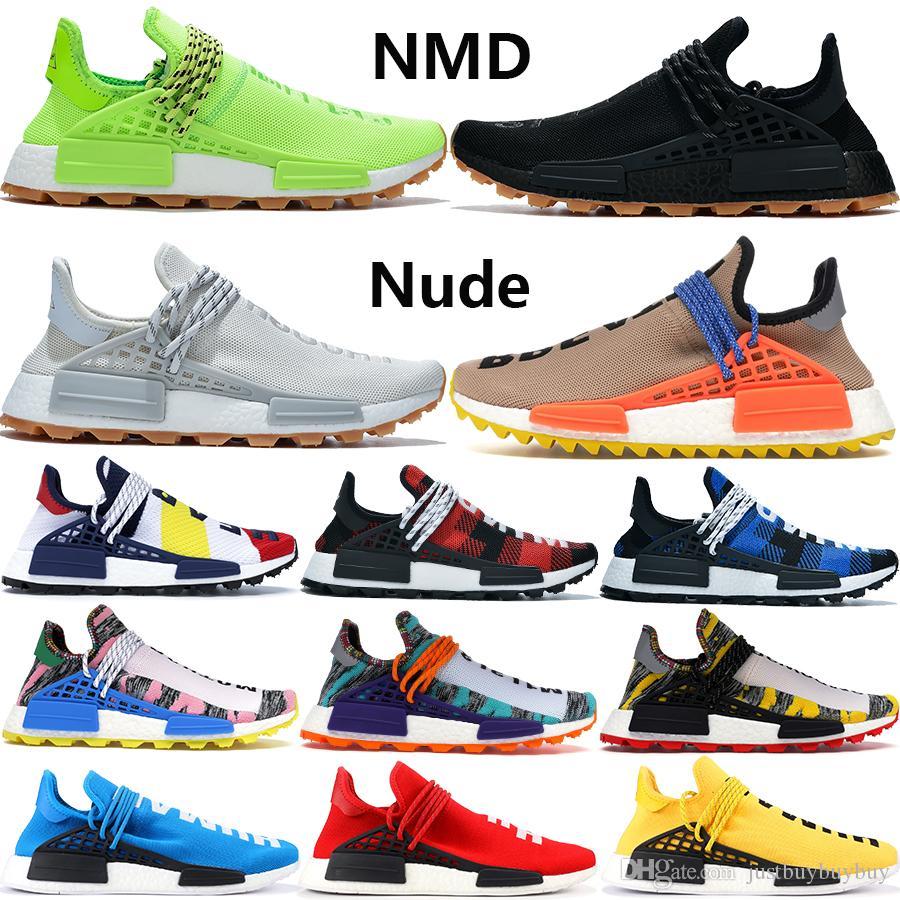 Scarpe da corsa NMD Human Race di specie infinite da uomo BBC di alta qualità che conoscono le scarpe da ginnastica firmate Pharrell Williams oreo da donna