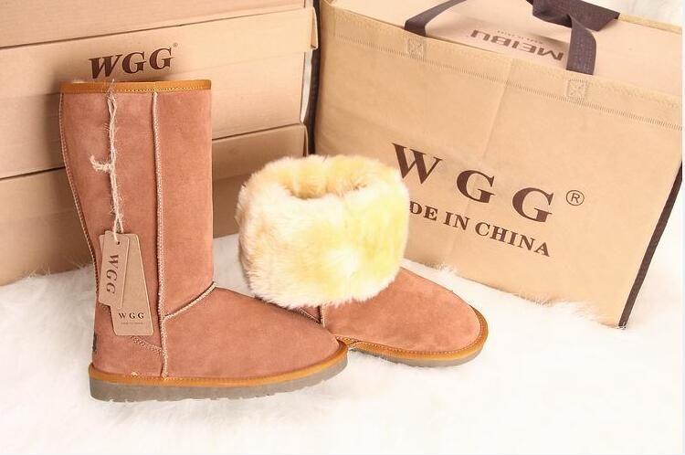 ENVÍO GRATIS Botas altas clásicas para mujer WGG de alta calidad Botas para mujer Botas para la nieve Botas de invierno Botas de cuero TAMAÑO EE. UU. 5 --- 14