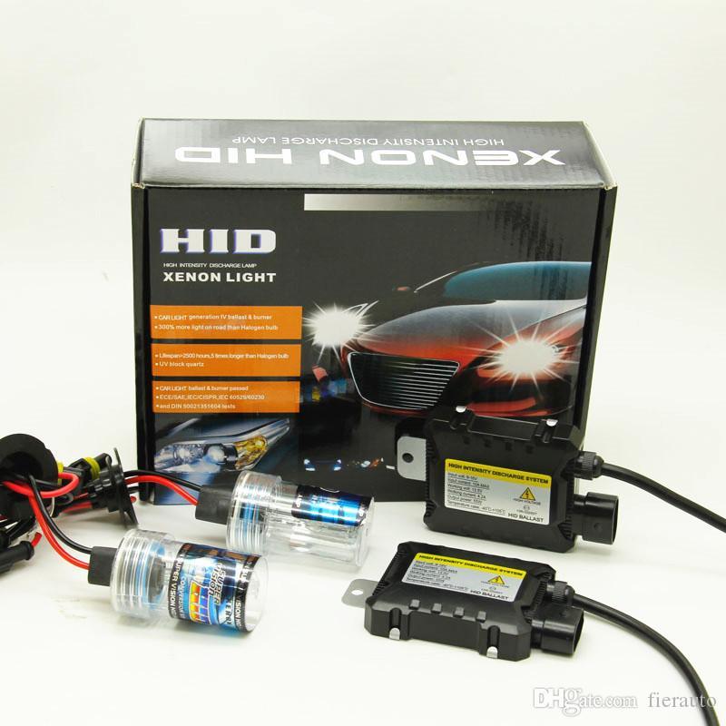 100 kit HID XENON h1 h3 h4 h7 h11 9005 9006 880 881 6000k 55w auto 12v headilght