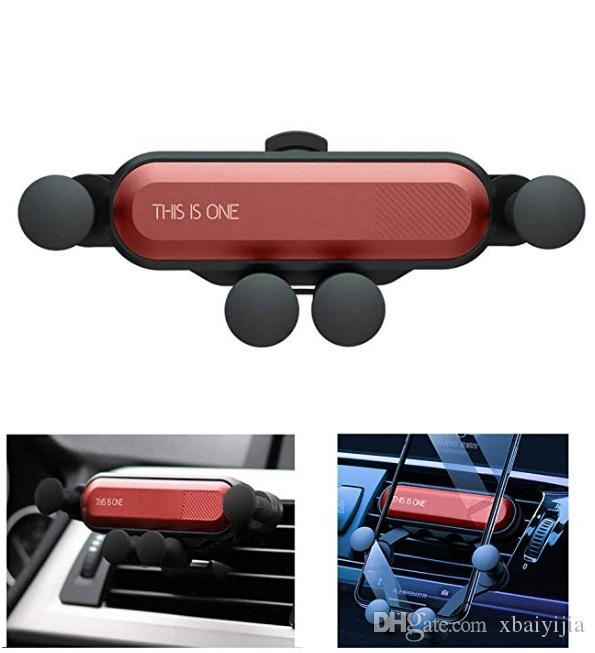 Rotatable Air Vent Cell Phone Holder for Car Compatible With iPhone 11 Pro XR X 8 7 Galaxy S10 9 8 7 LG Goole ZET Moto and More DIJIAHUA Car Phone Mount Holder Gravity Automatic Locking Phone Holder