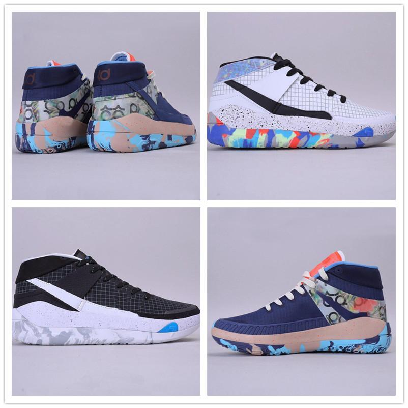 nike shoes 2020 Hommes formateurs New KD 13 EP mousse blanche rose Paranoid Oreo ICE Chaussures de basket originale Kevin Durant XI KD13 Sneakers Taille 7-12