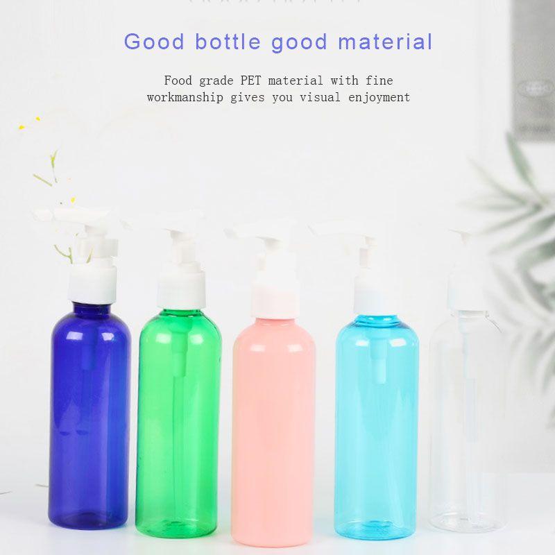 100ml squeeze Packing bottle with pump head lotion press bottle pressure duckbill type sub-bottle shampoo sample bottle W1202