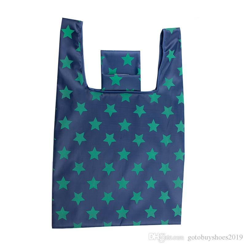 Thickening Oxford Reusable Shopping Bag Women Large Capacity Tote Bag Foldable Grocery Bags Fashion Travel Eco Shopper Bags New #215178