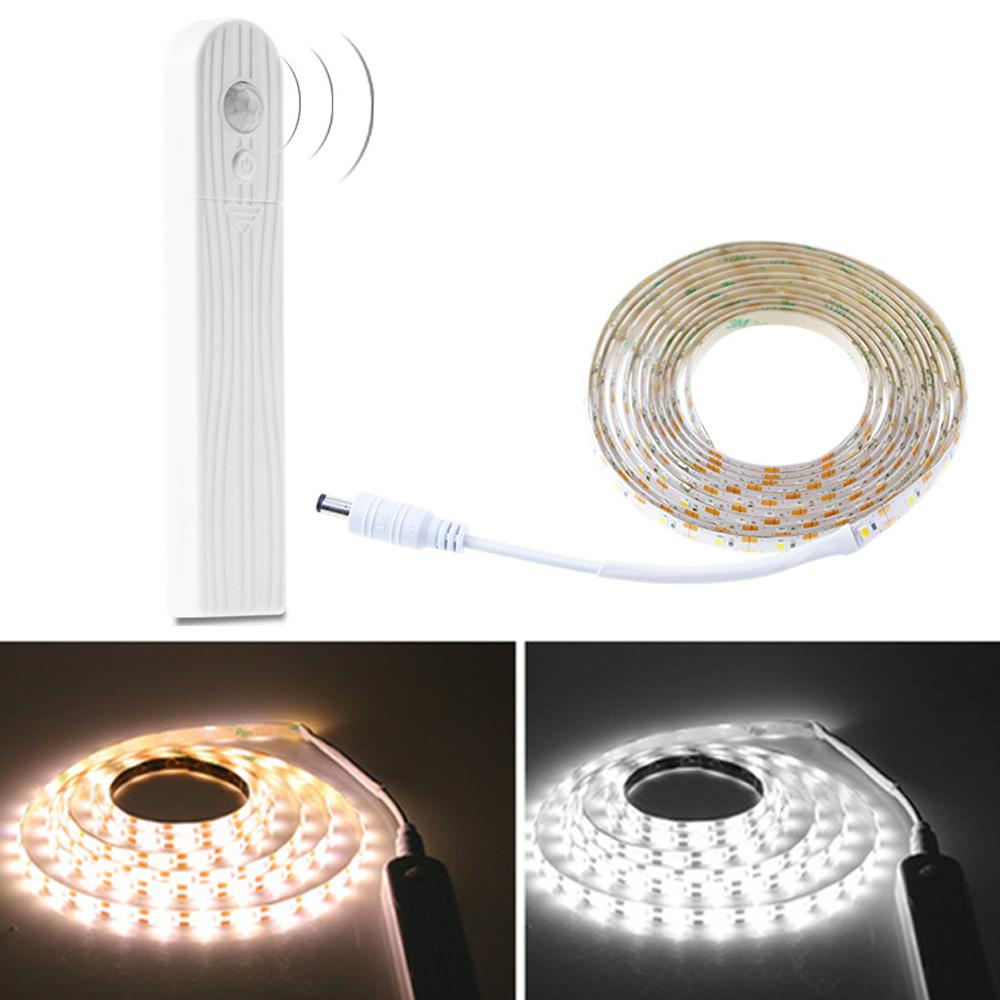 New LED wardrobe light staircase corridor lamp human body induction soft LED lamp with 5V 2835 bed bottom atmosphere lamp