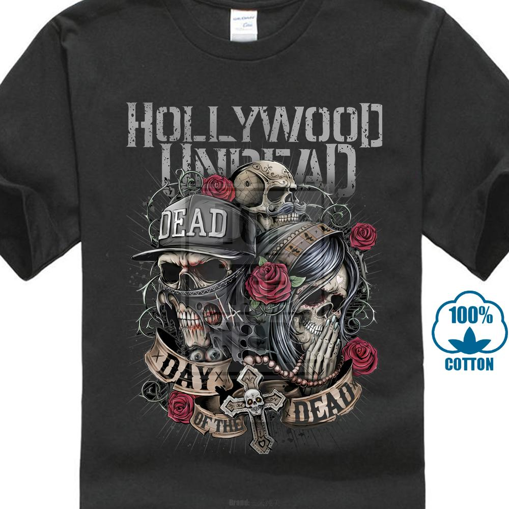 Hollywood Undead Tour 2019 Logo Men/'s Black T-Shirt Size S M L XL 2XL 3XL