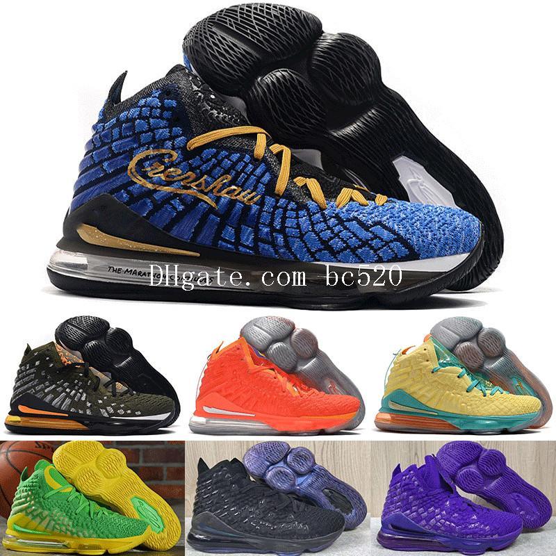 2020 New Mens FMVP james 17s Mr. Swackhammer eu prometo Igualdade tênis de basquete Rei LeBrons 17 XVII JAMES GANG Luxo Sneakers tamanho 40-46