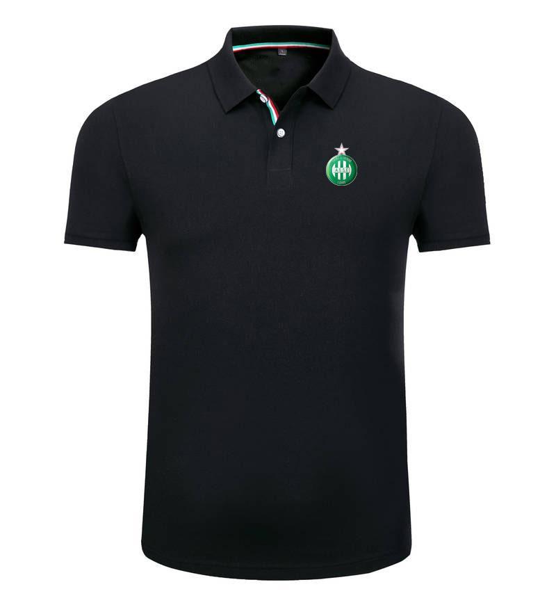 ASSE 2020 весна и лето новый хлопок футбол поло рубашка мужская с короткими рукавами нагрудные унисекс поло может DIY пользовательские мужские рубашки поло