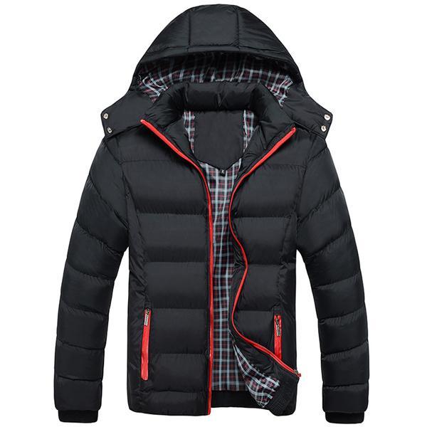 Mountainskin Erkekler Kış Kalın Ceket Sıcak Erkek Coats Moda Termal yeni Erkek Parkas Casual Giyim
