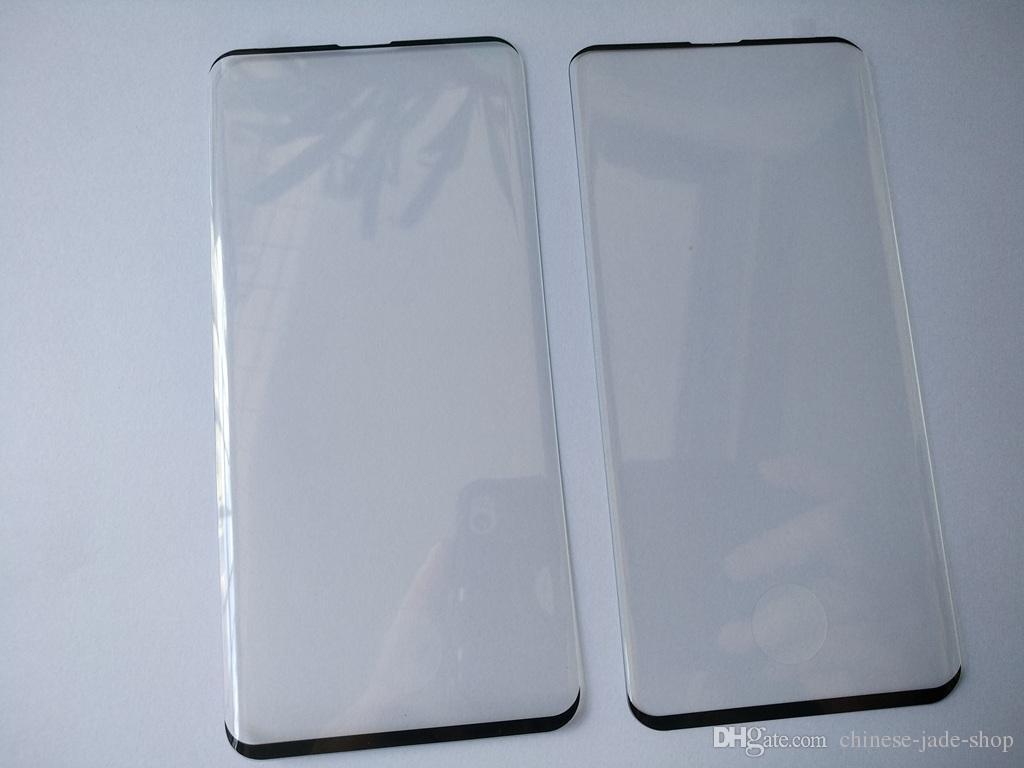 Protezione schermo in vetro temperato curvo EDGE GLUE per Samsung Galaxy S10 S10 5G S10 PLUS senza confezione