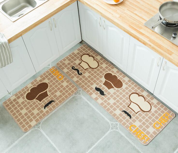 Großhandel Küchenmatte Bad Fußmatte Bodenmatte Rutschfeste Wasseraufnahme  Teppich Küche Bodenmatte Teppich Wc Teppich Veranda Tür Von Sophine11, ...