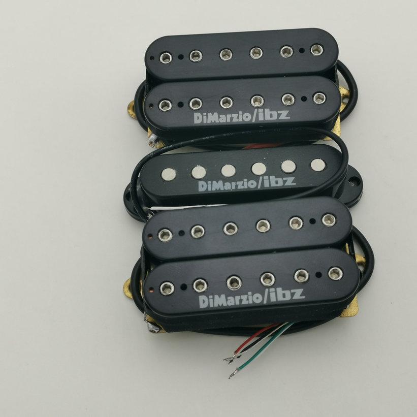 Recogida NUEVO estilo de la aleación de acero 5 Pastillas Guitarra RG2550 / RG2570 SAS el cuello de la guitarra eléctrica / Medio / Puente 1 Set