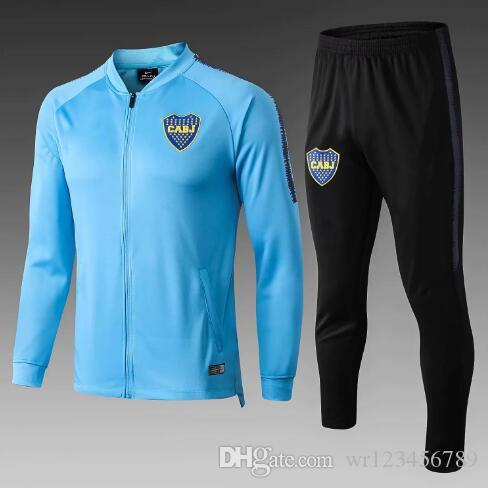 2019 Boca Juniors jacket track suit 19 20 Boca Juniors Windbreaker football training set GAGO TEVEZ PAVON training