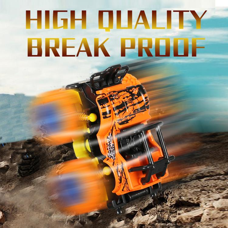 TW2005063 Friction Toys Swing stunt big wheel double inertia car High Quality Break Proof 4 Color OFF-ROAD Vehicle