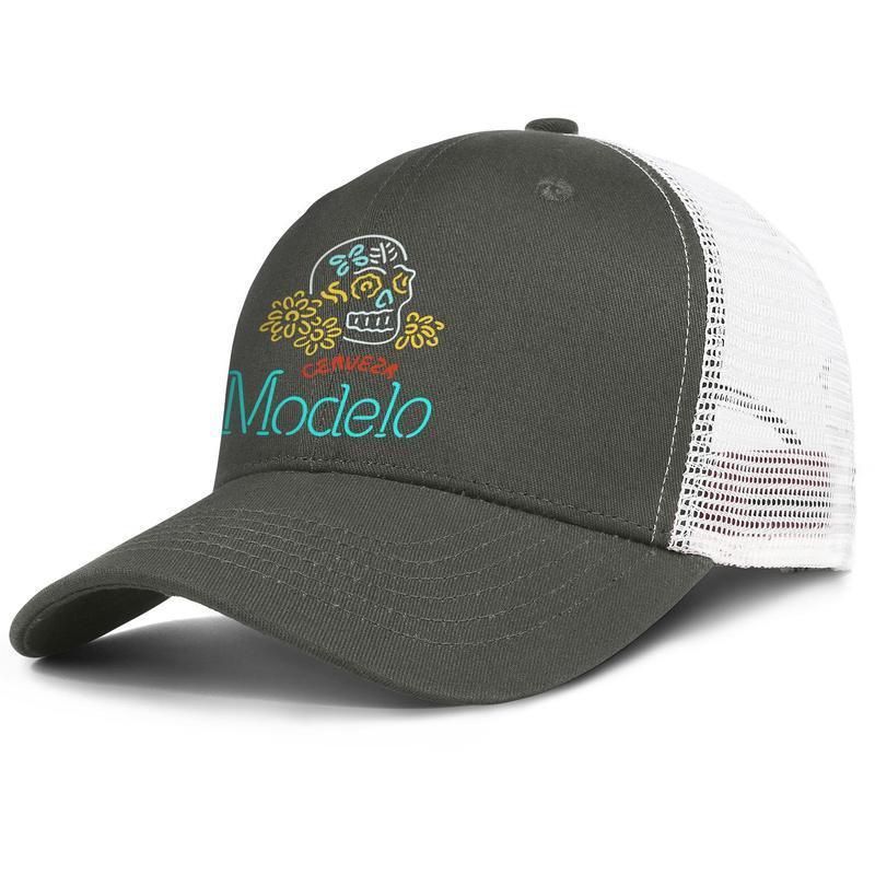 Modelo beer especial mens and women regulable Trucker meshcap designer blank team trendy baseballhats Negra