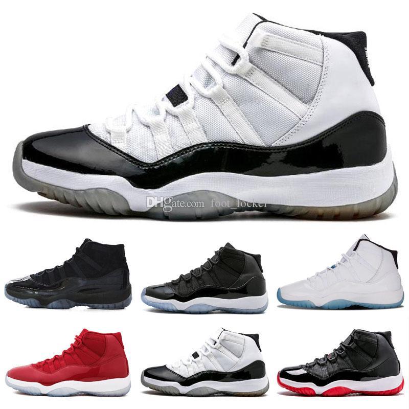 Yeni 11 Basketbol Ayakkabıları 11 s erkekler kadınlar Spor Kırmızı yüksek düşük le Space Jam Üniversitesi Mavi Gül Altın Lacivert Sakız Concord 23 45 Uzay Reçel Sneakers