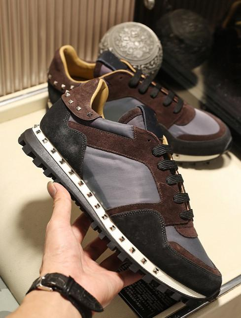 22020 Designer Shoes Rockrunner camuflaje Entrenadores de malla de cuero real Combo Roca Runner zapatillas para Hombres Mujeres suela de goma con la caja 30A