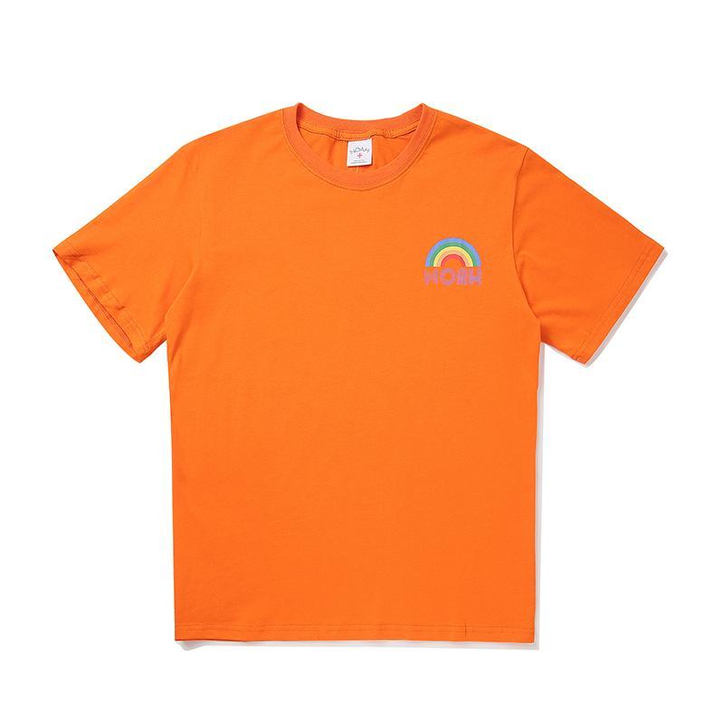 Vente chaude Mens Designer T-Shirts D'été De Mode Hommes De luxe T-Shirts Filles Marque T-shirt manches courtes arc-en-impression Top Quility T-Shirts 2042104 H