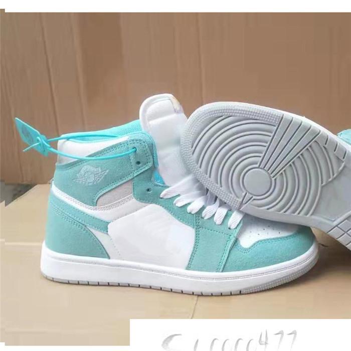 2020 1s haute OG Travis Scotts chaussures de basket-ball Jumpman UNC 1 top 3 Hommes Hommage à Home Royal Bleu Hommes Sport Designer Chaussures Baskets T1A5