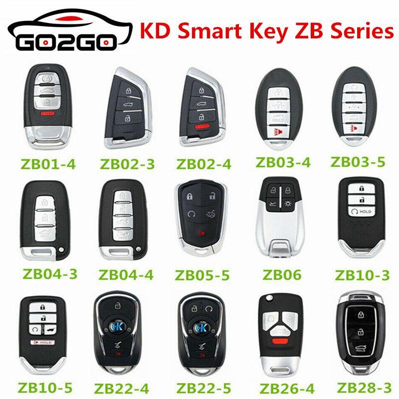Nuovo originale KEYDIY chiave astuto universale multifunzionale 5PCS ZB Serie telecomando per -X2 programmatore chiave