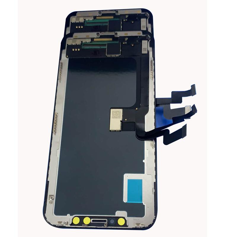 For iphone x LCD digitizer vs oled screen replacemnt fully assemble in perfect way to fit