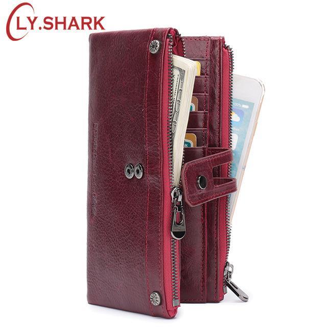 Coin Purse Big Shark Womens Wallet Clutch Bag Girls Small Purse