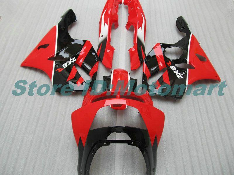 Body For KAWASAKI ZX 636 600CC ZX-636 1994 1995 1996 1997 ZX636 ZX-6R ZX600 ZX 6 R 6R ZX6R 94 95 96 97 red black HM05 Fairings