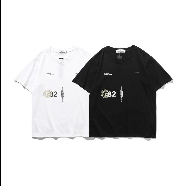 zQuadrangle Mens Del Progettista di Marca T Shirt Donna Di lusso felpa camicia manica corta Pullover Casual Abbigliamento Uomo Streetwear Pullover 20041602L