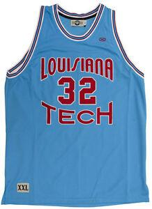 # 32 Karl Malone Louisiana Tech Bulldogs NCAA nach vorne Baloncesto Jersey Stickerei genähtes fertigen jede Nummer und Name Trikots