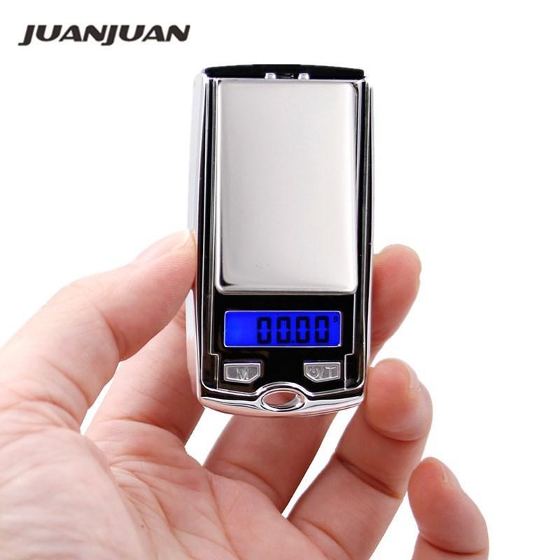 Hohe Genauigkeit 0,01g 100g Digitalanzeige Mini Tasche Schmuck Silber Skala Autoschlüssel Design Haushalt Wiegen 17% Rabatt