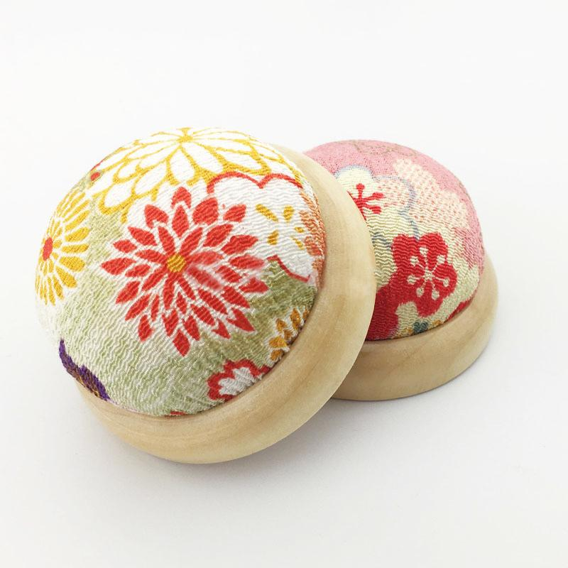 1шт Цветочные вышивки иглы для шитья Pin Подушка Кнопка Главная Портные безопасности Craft DIY стежка Шитье Шитье Аксессуары