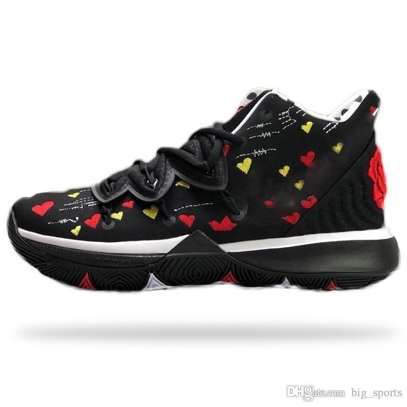 Nouveau Chaussures de basket Kyrie 5 garçons Chambre Sneaker x All-Star 5 Irvings I Love U Mom Femmes Outdoor Sport Formation Sneakers Taille US 7-12
