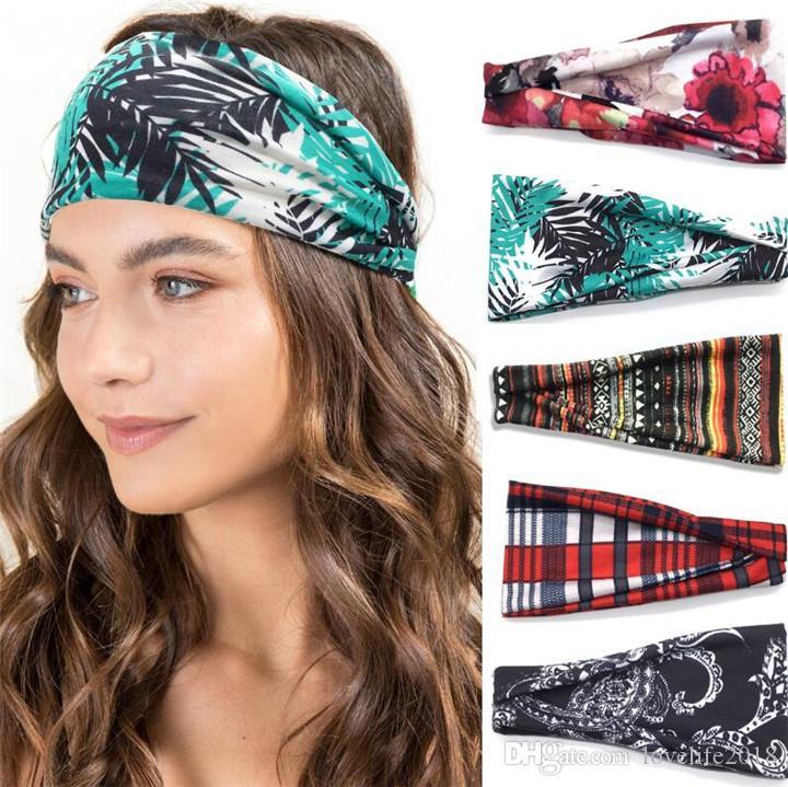 Multifunctional Headwear Umbrella Cartoon Head Wrap Elastic Turban Sport Headband Outdoor Sweatband