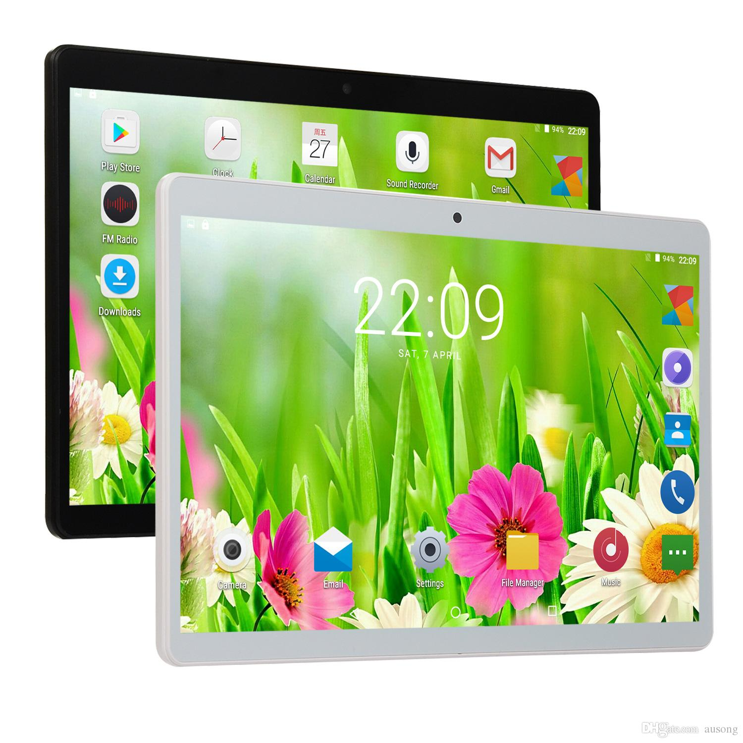 """10.1inch Tablet PC 10"""" IPS Quad Core tablet 3G tablet Android7.0 MTK6580 google player wifi + big speaker +GPS BLUETOOTH"""