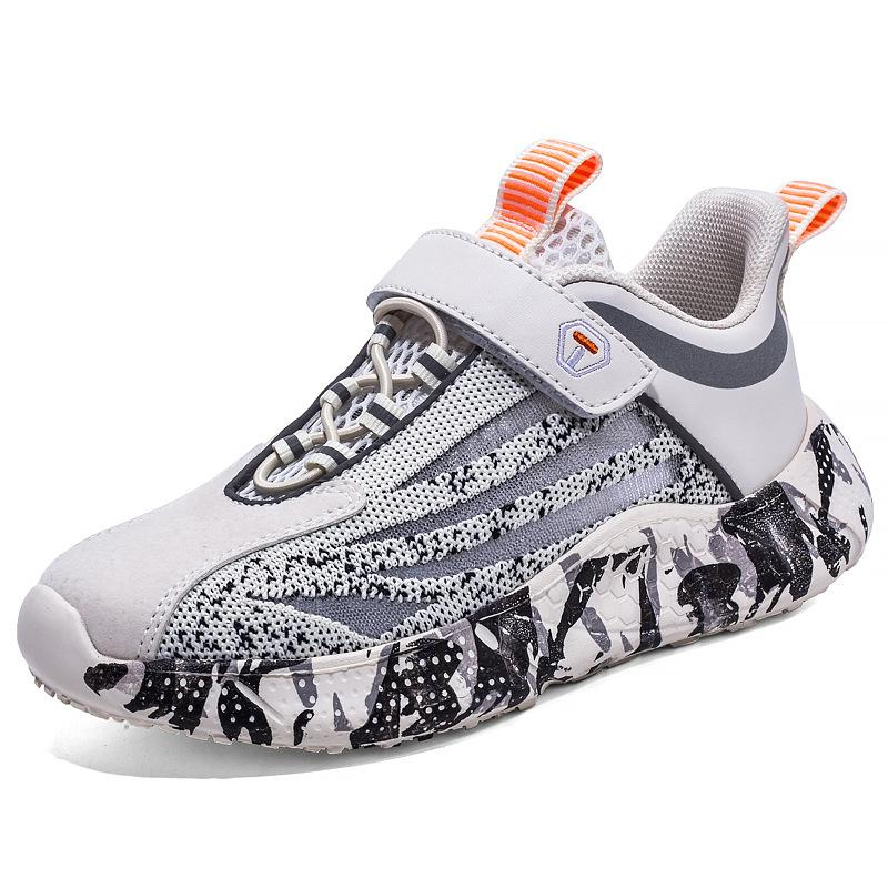 Boys sports shoes 2020 summer new breathable single mesh Korean version of the trend coconut shoes girls casual sports