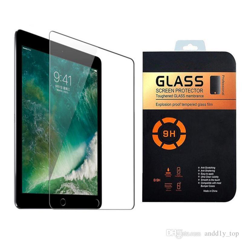 الزجاج المقسى 0.3 ملليمتر حامي الشاشة for iPad Pro 2017 2 3 4 Air / Air 2 mini / mini 2 / mini 3 / mini 4