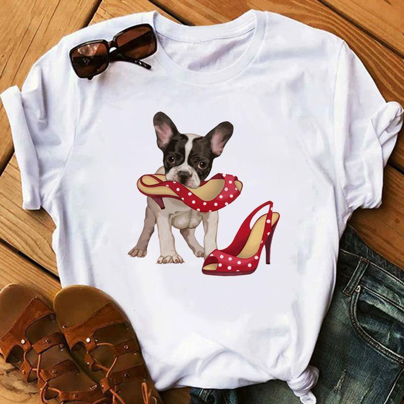 Aşk zh Sevimli Küçük Yorkshire Terrier Köpek Tişörtlü Kadınlar Yaz Güzel Melek Youkshire Kızlar Tee Gömlek Hayvan tişört yazdır Tops