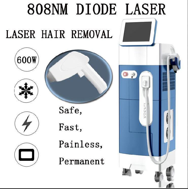 2020 슈퍼 다이오드 레이저 머리 제거 기계 808 다이오드 레이저 기계 빠르고 고통없이 영구적 인 레이저 머리 제거 시스템