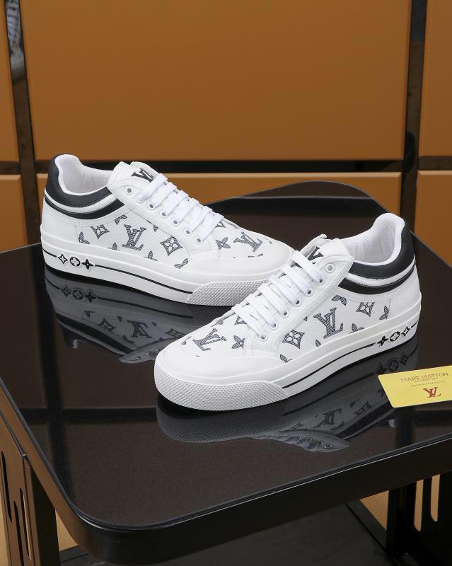 louis vuitton LV Lüks Tasarımcılar Erkekler Günlük Ayakkabılar Erkekler Rasgele Ayakkabı Lüks Tasarımcılar Sneakers Erkek Moda Sneakers Casual Deri Ayakkabı eğitici